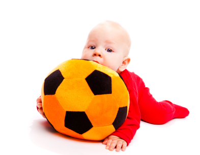 Baby with Ball