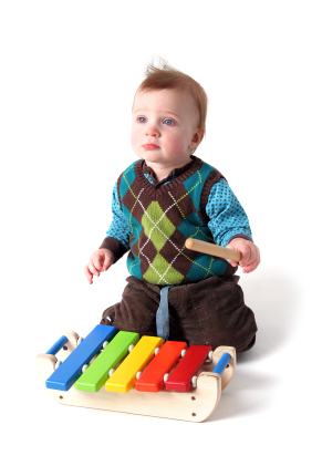 Baby with Xylophone